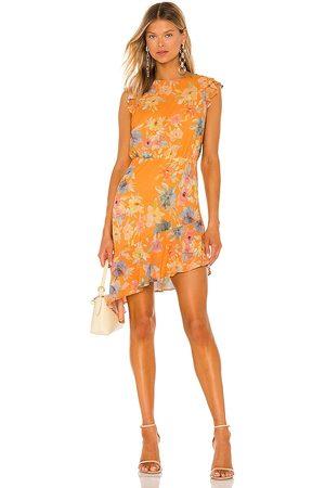 Amanda Uprichard Ibiza Dress in Orange.
