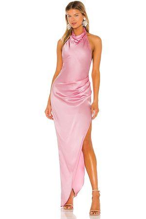 Amanda Uprichard X REVOLVE Samba Gown in Pink.