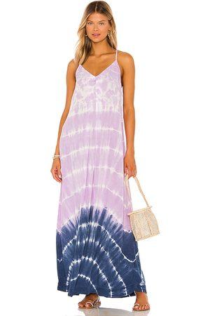 MICHAEL STARS Gloria Slip Dress in Lavender.