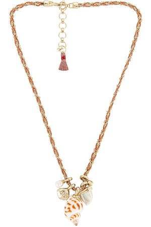 Kendra Scott Oleana Charm Necklace in Metallic .