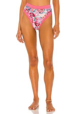 Lovers + Friends Women Bikinis - Little Me High Waist Bottom in .