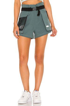 Nike X Naomi Osaka Utility Short in Grey.