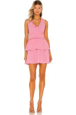 Amanda Uprichard Moneta Dress in Pink.
