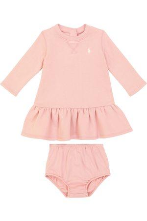 Ralph Lauren Baby cotton-blend dress and bloomers set