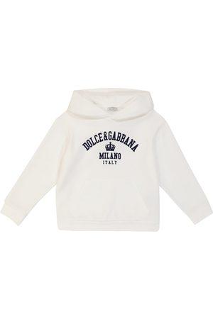 Dolce & Gabbana Stretch Pants - Logo stretch-cotton hoodie