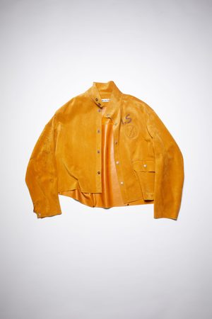 Acne Studios FN-WN-LEAT000155 Relaxed suede jacket