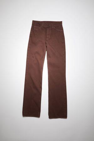 Acne Studios 1977 Rich Brown Bootcut fit jeans