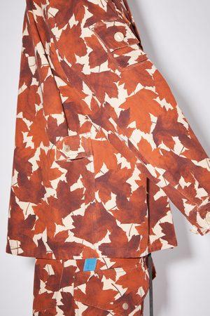 Acne Studios FN-MN-OUTW000698 Printed jacket
