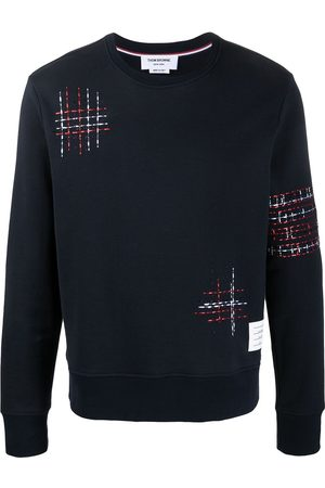Thom Browne Embroidered detail sweatshirt