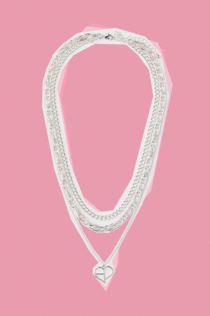 H&M Women Necklaces - Triple-strand Necklace