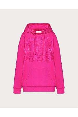VALENTINO Women Sweatshirts - Jersey And Lace Sweatshirt Women Petunia 100% Cotton L