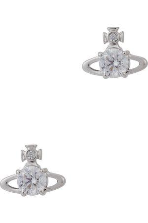 Vivienne Westwood Reina -tone orb stud earrings