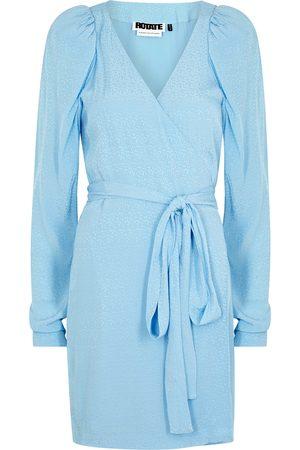 ROTATE Women Dresses - Bridget jacquard wrap dress