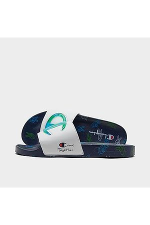 Champion IPO Come Together Slide Sandals in / / Size 8.0