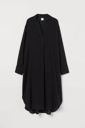 H&M Women Casual Dresses - Lyocell-blend Shirt Dress