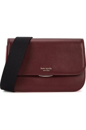 Kate Spade Buddie medium two-tone leather cross-body bag