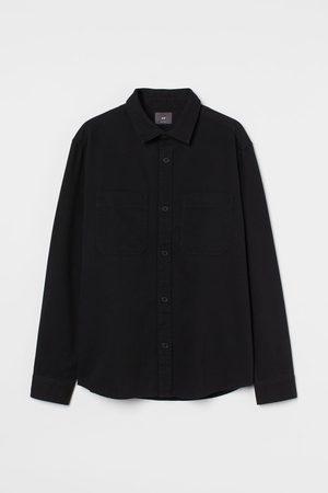 H&M Men Jackets - Regular Fit Shirt Jacket