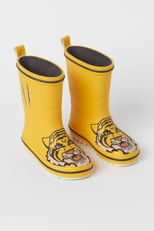 H&M Printed Rubber Boots