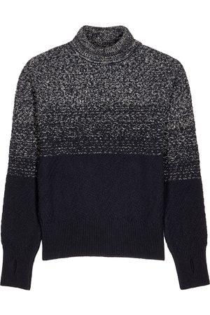 OLIVER SPENCER Talbot navy roll-neck wool jumper