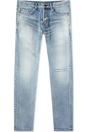 Saint Laurent Men Slim - Classic Slim 5-Pocket Jean