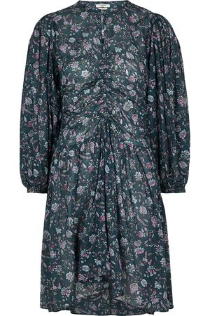 Isabel Marant Women Printed Dresses - Marili floral-print cotton mini dress
