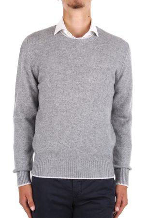 JURTA Choker Men Grey Cashmere/lana