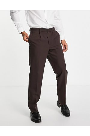 River Island Relaxed suit pants in