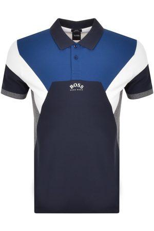 HUGO BOSS Men Polo Shirts - BOSS Paule 1 Polo T Shirt Navy