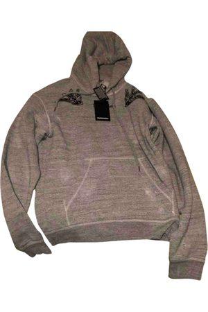 Dsquared2 Grey Cotton Knitwear & Sweatshirt