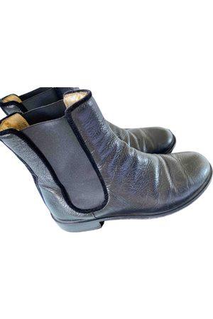 Avec Modération Leather ankle boots
