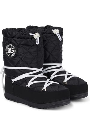 Dolce & Gabbana Snow Boots - Quilted nylon snow boots
