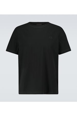 Moncler Short-sleeved cotton T-shirt