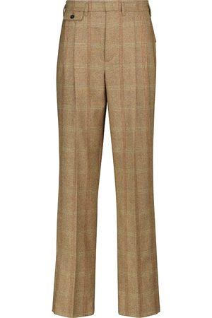 Loro Piana Eitan herringbone straight pants