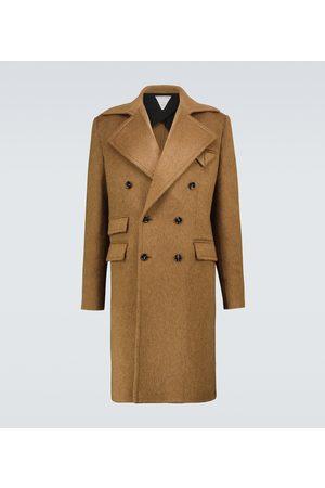 Bottega Veneta Double-faced wool and mohair coat