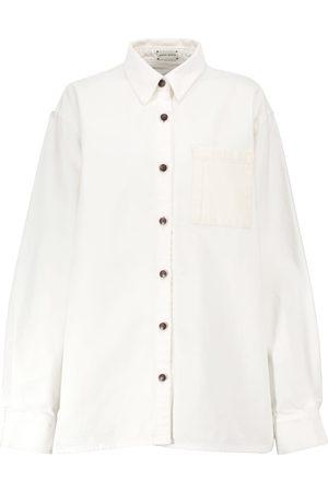 MAGDA BUTRYM Women Denim - Oversized denim shirt