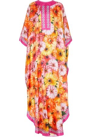 Dolce & Gabbana Floral silk kaftan