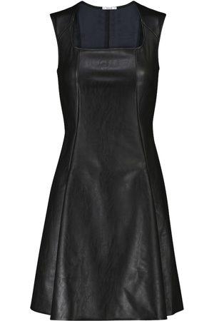 Wolford Jenna faux leather minidress