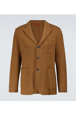 BARENA Slanega felted wool-blend blazer