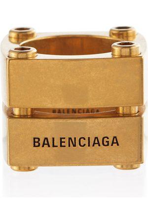 Balenciaga Gear Plate ring