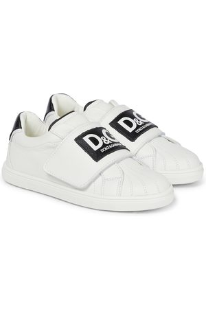 Dolce & Gabbana Logo leather sneakers