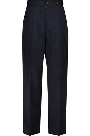 Maison Margiela High-rise straight pants