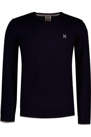 Oxbow P0 Pivega Essential V Neck Sweater XXXL Deep Marine Heather