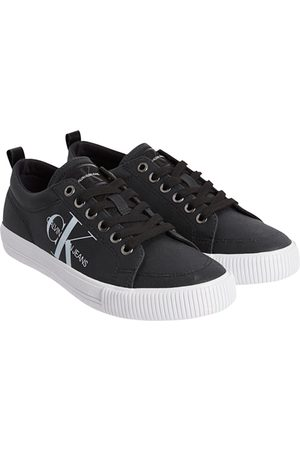 Calvin Klein Women Sneakers - Vulcanized Laceup Trainers EU 36