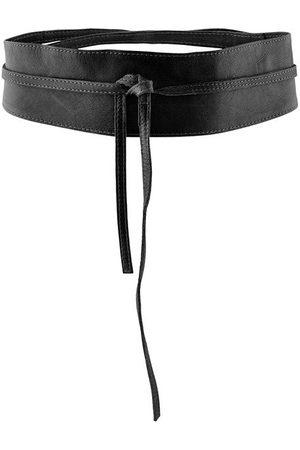 Pieces Women Belts - Vibs Leather Tie Waist Belt 80 cm