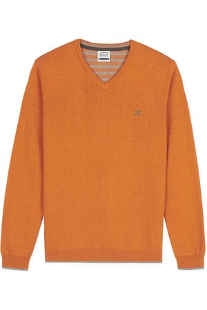 Oxbow Women Sweaters - N2 Pivega Essential V Neck Sweater L Bourbon