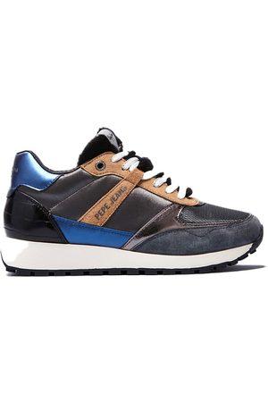 Pepe Jeans Women Sneakers - Dean Petty Trainers EU 36 Argent