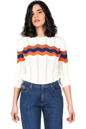 Oxbow N2 Pergola Zigzag Intarsia Sweater 1 Salt