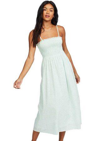 Billabong Baja Breeze Dress XS Salt Crystal