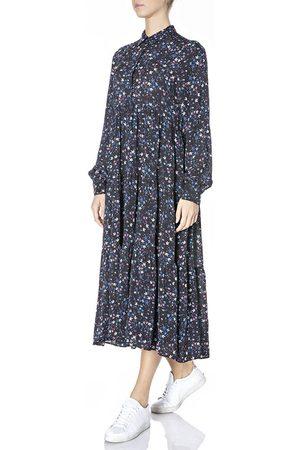 Replay Women Dresses - W9652a.000.73504 Dress M / Cyclamen / Blue / Azure