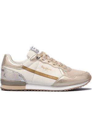 Pepe Jeans Archie Top Trainers EU 38 Gold